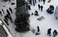 У Росії автобус із пасажирами впав з моста в річку, 19 загиблих (оновлено)
