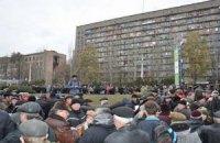 В Донецке чернобыльцев забирает скорая прямо из зала суда