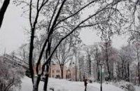 Завтра в Киеве холодно, возможен снег