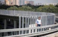 Кличко перевірив хід робіт на Подільсько-Воскресенському мостовому переході