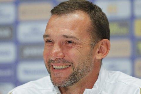Шевченко оголосив про завершення контракту головного тренера збірної України з футболу