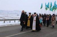 Организации Аграрной партии Тернопольщины и Хмельнитчины побратались на Збруче