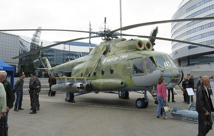 Вертолет Ми-8МСБ