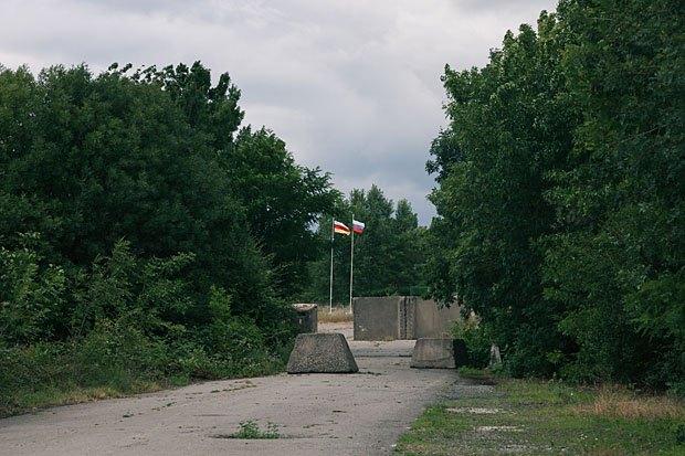 Место проведения грузино-южноосетинско-российских встреч в Эргнети в рамках механизма по предотвращению инцидентов и реагированию на них при содействии ОБСЕ и миссии Европейского союза по наблюдению
