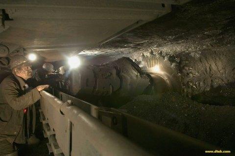 Украина с начала года сократила добычу угля на 5%