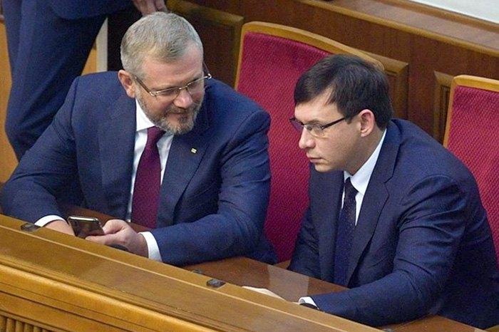 Евгений Мураев и Александр Вилкул