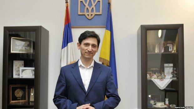Посол України в Сербії Олександр Александрович