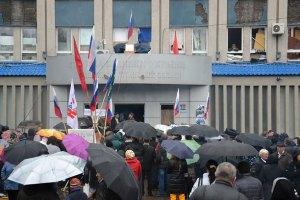Луганский горсовет требует от ВР амнистировать сепаратистов