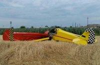 В Полтавской области разбился легкомоторный самолет, его пилот погиб