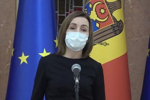 Президент Молдовы решила добиваться внеочередных выборов в парламент