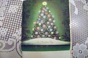 Рождественская открытка путешествовала по США 61 год