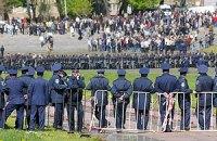 Во Львове милиция не давала почтить память погибших в ВОВ