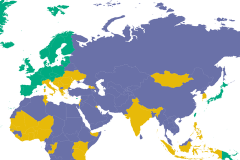 Україна поліпшила позиції у рейтингу свободи слова