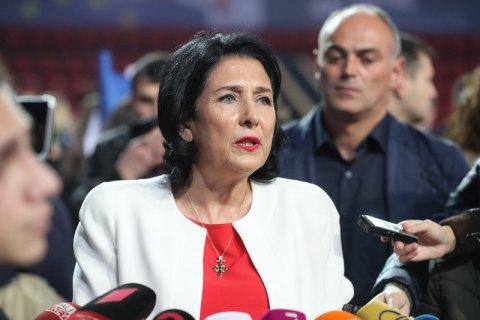 Президентка Грузії завтра прибуде до Києва