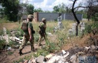 На Донбассе сегодня ранены двое украинских военных