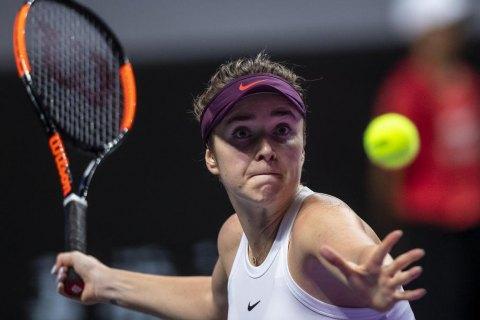 Свитолина не смогла защитить титул чемпионки Итогового турнира WTA