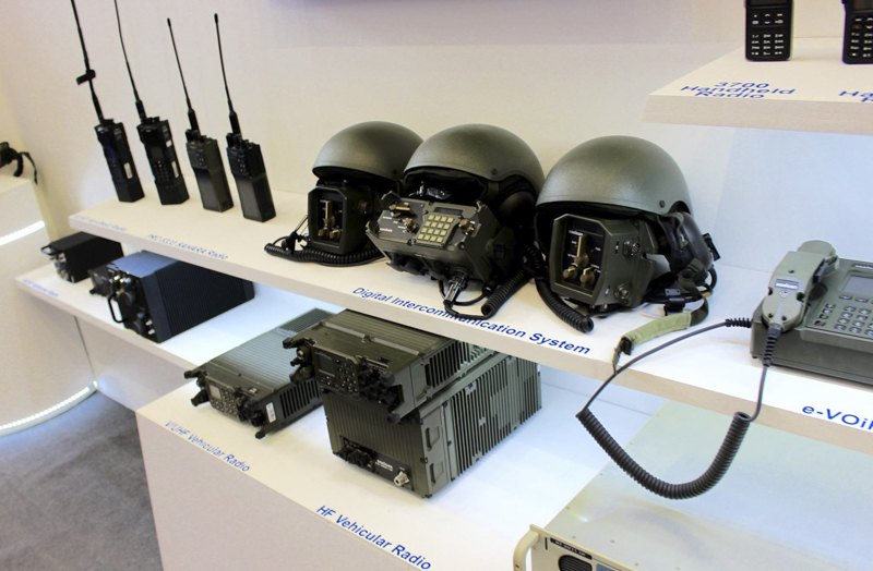 системи тактичної УКХ-радіозв'язку турецької компанії Aselsan