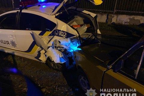 У Чорноморську сталася ДТП за участю поліцейського автомобіля