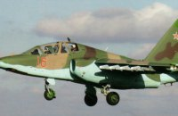 У Ставропольському краї Росії розбився штурмовик Су-25