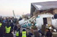 У Казахстані пасажирський літак впав під час зльоту і врізався в будівлю (оновлено)