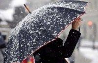 У найближчі дві доби в Україні – сніг та мокрий сніг