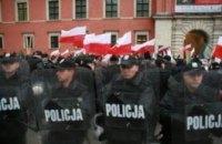 У Варшаві затримали ще 70 російських фанатів