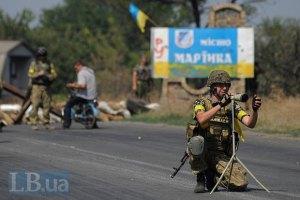 Під Мар'їнкою загинули двоє українських військових