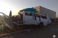 Крупное ДТП в Николаевской области: пятеро погибших, 12 пострадавших