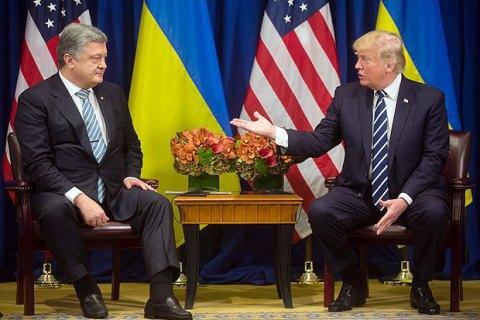 Президент США скасував усі двосторонні зустрічі в Брюсселі після розмови з Порошенком