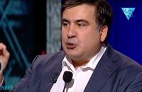 Саакашвили нахамил журналистке в прямом эфире