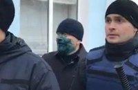Вілкула облили зеленкою в Бердянську