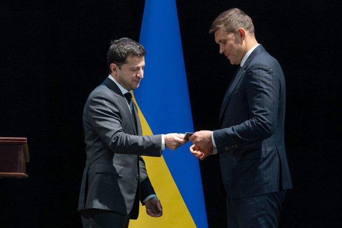 Президент Владимир Зеленский представил нового главу одесской ОГА Максима Куцого