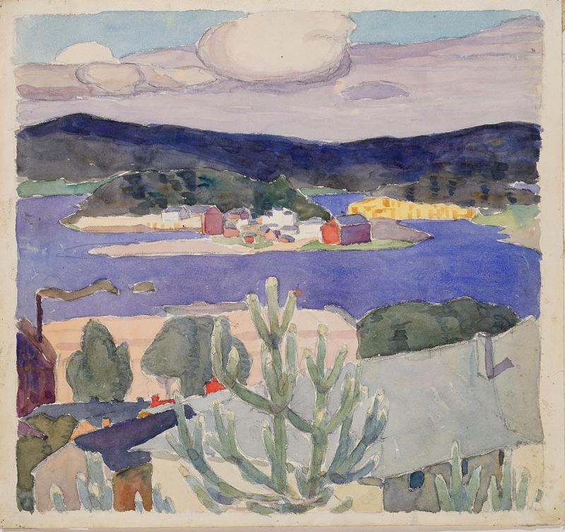 О.Богомазов «Фінляндія» (NAMU, 1911)