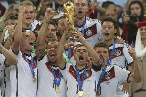 Збірна Німеччини виграла свій перший за 24 роки чемпіонат світу