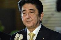 Премьер Японии написал письмо Порошенко