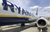 Ryanair втратив понад 400 млн євро через пандемію
