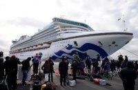 Еще один украинец заболел коронавирусом на лайнере Diamond Princess (обновлено)