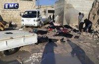 Війська Асада застосували заборонені фосфорні бомби під час обстрілу Ідліба