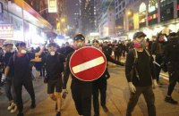 У Гонконзі протестувальникам заборонили надягати маски на Геловін