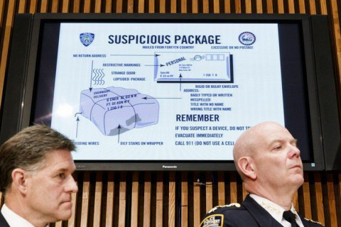 У США знайшли ще дві посилки з бомбами