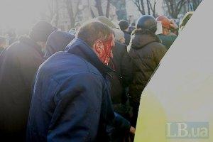 423 человека госпитализированы в ходе столкновений в Киеве с 18 февраля