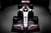 """WADA вивчить ліврею боліда команди Формули-1 """"Хаас"""" з російським прапором"""