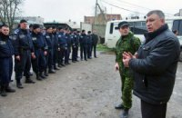 Російський підполковник підпорядкував горлівську міліцію невідомому чоловікові у цивільному