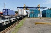 В Україну прибув перший контейнерний поїзд із Китаю за новим маршрутом