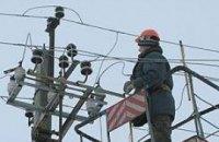 На западной Украине села третий день сидят без света
