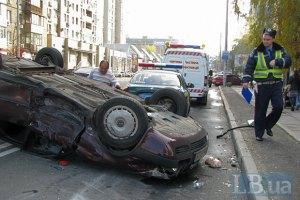 В Украине за сутки произошло 90 ДТП