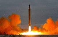 КНДР запустила очередную баллистическую ракету (обновлено)