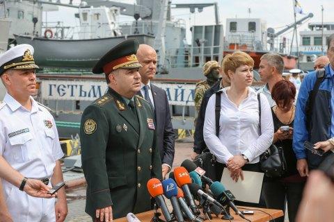 Україна не припиняла переговорів з РФ про повернення кораблів, - Полторак