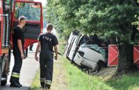 Автобус с украинцами попал в ДТП в Польше