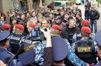 "В Тернополе соратники Тягнибока грозят посадить коммунистов на ""гилляки"""